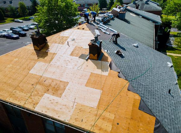 屋根の雨漏り修理で大損害の事例