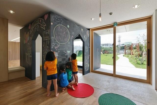 内装塗装で人気の黒板